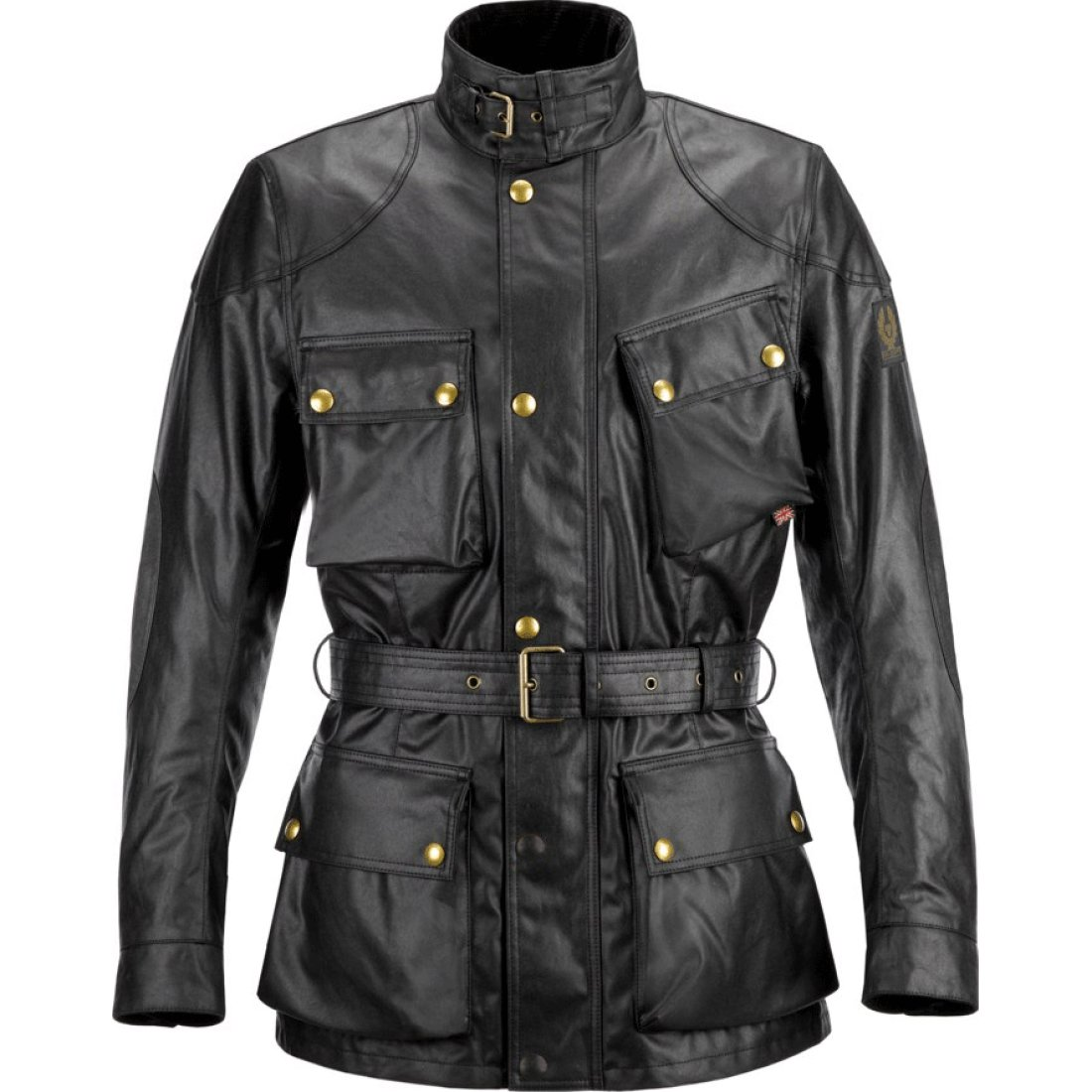 belstaff classic tourist trophy cotton black jacket motocard. Black Bedroom Furniture Sets. Home Design Ideas