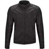 BELSTAFF X Man Racing Cotton Black