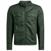 BELSTAFF X Man Racing Cotton British Racing Green