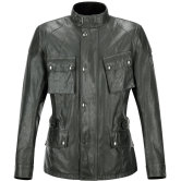 BELSTAFF Crosby Resin Coated Cotton Green