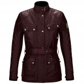 BELSTAFF Classic Tourist Trophy Cotton Lady Cardinal Red