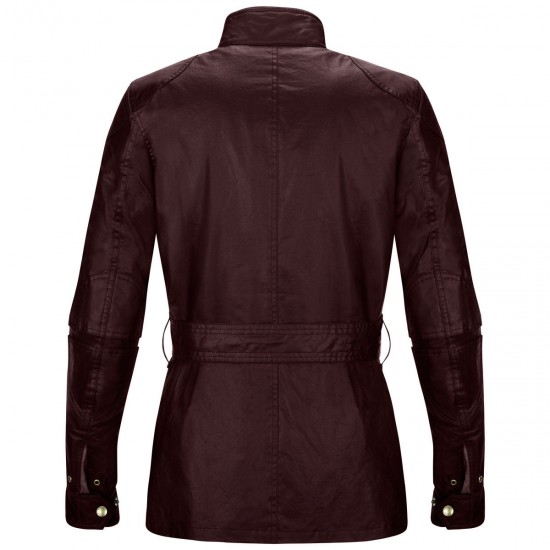 Giacca BELSTAFF Classic Tourist Trophy Cotton Lady Cardinal Red