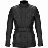 BELSTAFF Classic Tourist Trophy Cotton Lady Black