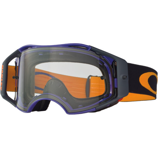 Gafas OAKLEY Airbrake MX Retro Speed Blue / Orange