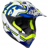 AGV AX-8 Evo Rossi Ranch