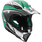 AGV AX-8 Evo Black / White / Green