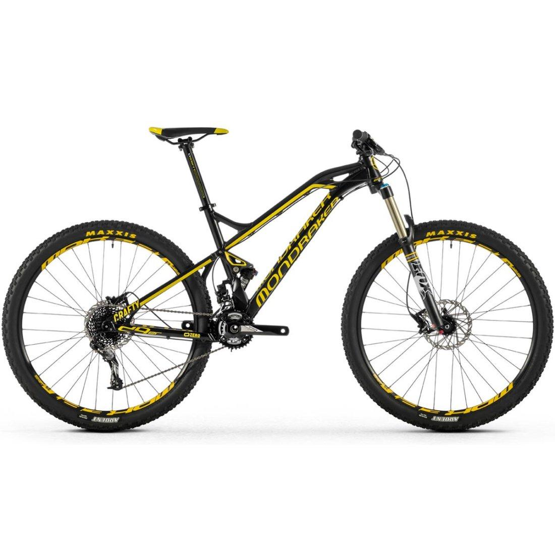 Bici Da Montagna Mondraker Crafty 29er Black Yellow
