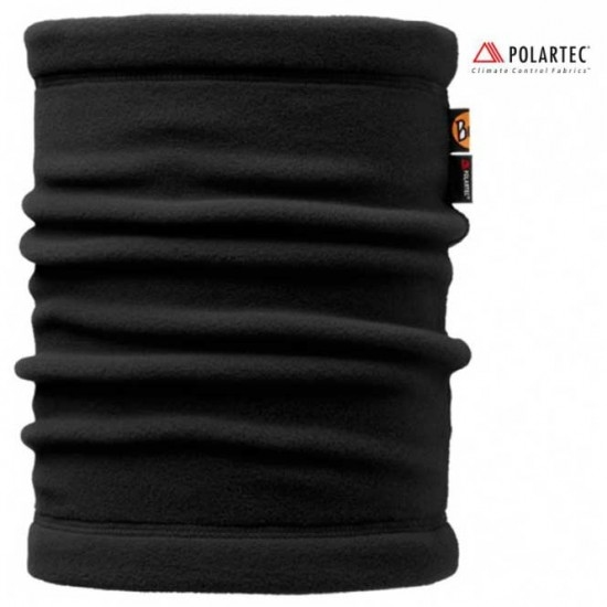BUFF Polar Neckwarmer Solid Black Thermal