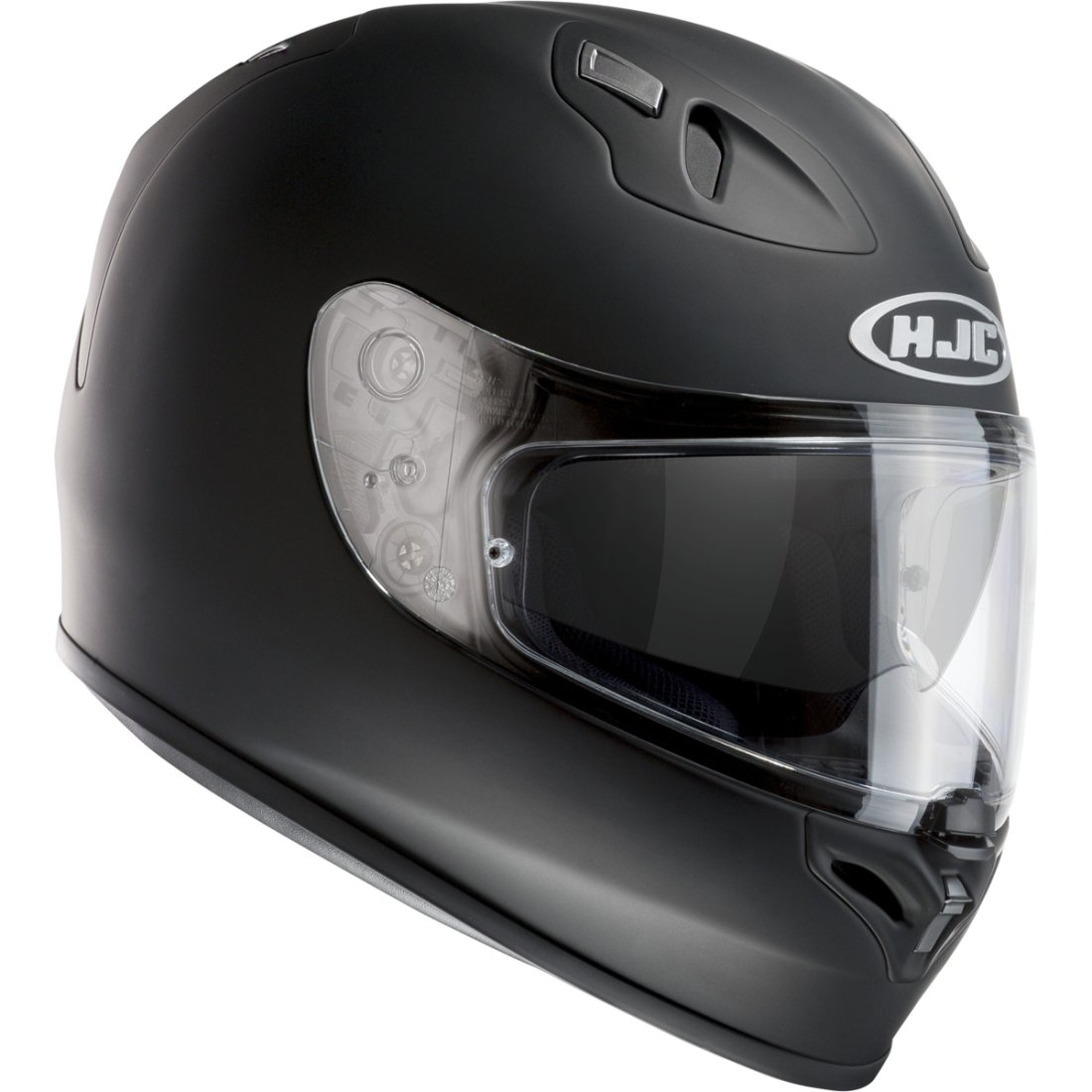 casco hjc fg st rubbertone black motocard. Black Bedroom Furniture Sets. Home Design Ideas
