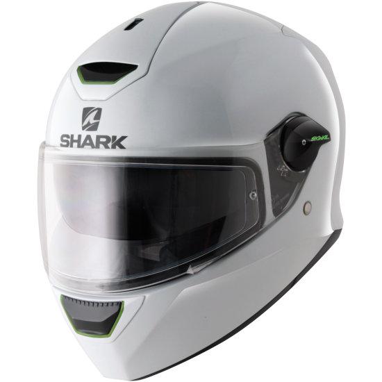 SHARK Skwal Blank White Helmet