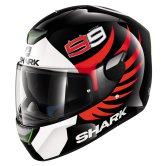 SHARK Skwal Lorenzo Black / White / Red