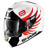 SHARK Skwal Lorenzo White / Black / Red