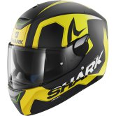 SHARK Skwal Trion Mat Black / Yellow