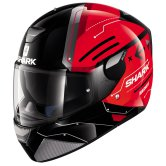 SHARK Skwal Warhen Black / Red / Black