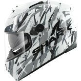 SHARK Speed-R Series2 Fighta White / Silver / Black