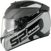 SHARK Speed-R Series2 Sauer Mat Black / Silver