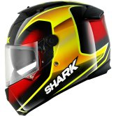 SHARK Speed-R Series2 Starq Black / Yellow / Red