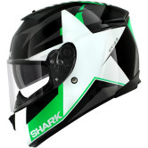 SHARK Speed-R Series2 Texas Black / White / Green