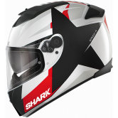 SHARK Speed-R Series2 Texas White / Black / Red