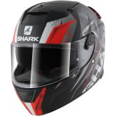 SHARK Speed-R Series2 Tizzy Mat Black / Red / White
