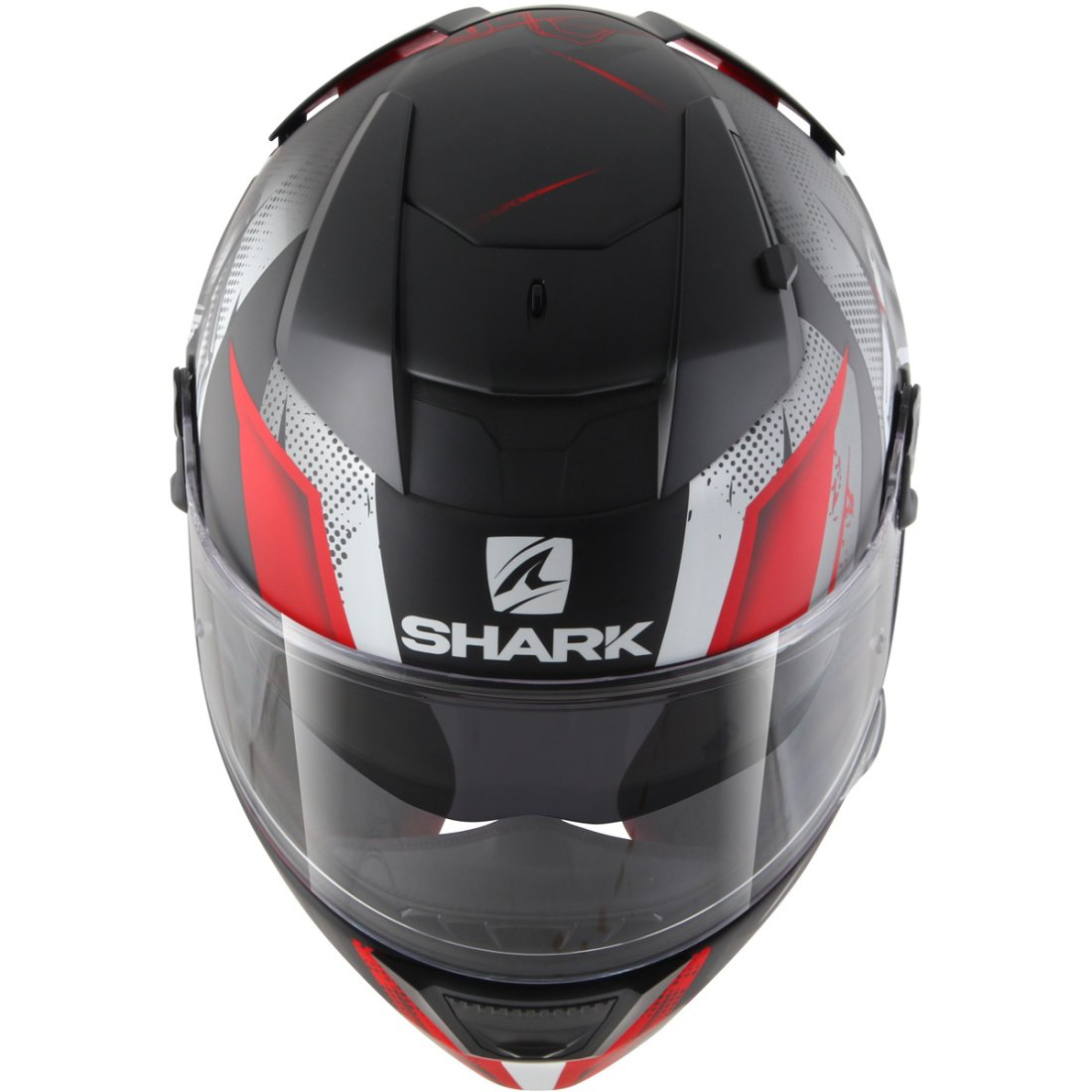 helmet shark speed r series2 tizzy mat black red white motocard. Black Bedroom Furniture Sets. Home Design Ideas