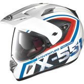 X-LITE X-551 Adventure N-Com Metal White