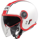 NOLAN N21 Visor Duetto Glossy White / Red