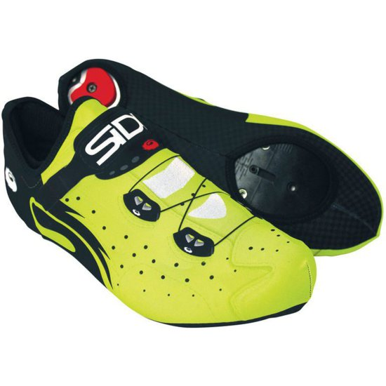 SIDI Lycra Wire Black / Yellow Fluo Shoe