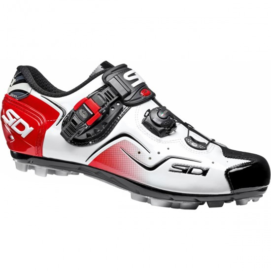 SIDI MTB Cape White / Black / Red Shoe