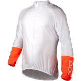 POC Essential AVIP Light Wind Hydrogen White / Zink Orange
