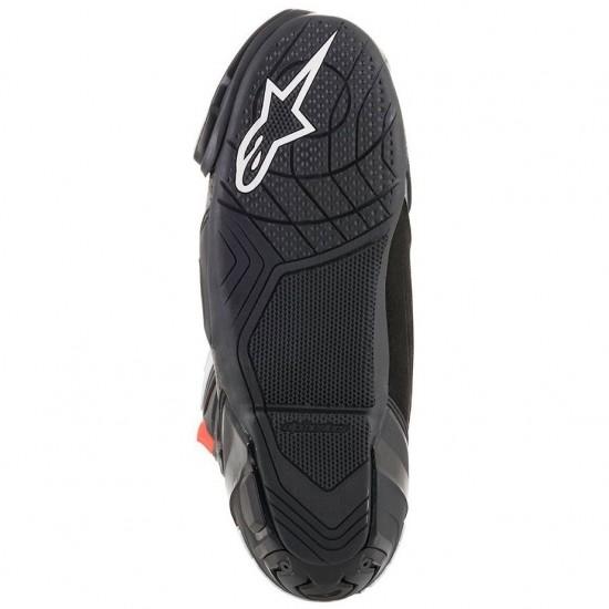 ALPINESTARS Supertech-R Black / Dark Grey / Red Fluo Boots