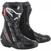 ALPINESTARS Supertech-R Black / Dark Grey / Red Fluo