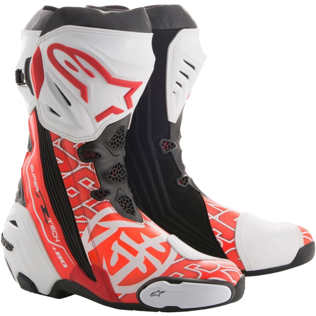 alpinestars supertech r samurai dani pedrosa limited edition boots motocard. Black Bedroom Furniture Sets. Home Design Ideas