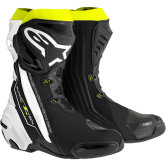 ALPINESTARS Supertech-R Black / White / Yellow Fluo