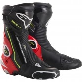 ALPINESTARS S-MX Plus Black / Red Fluo / White / Yellow Fluo