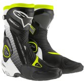ALPINESTARS S-MX Plus Black / White / Yellow Fluo
