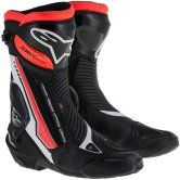 ALPINESTARS S-MX Plus White / Black / Red Fluo