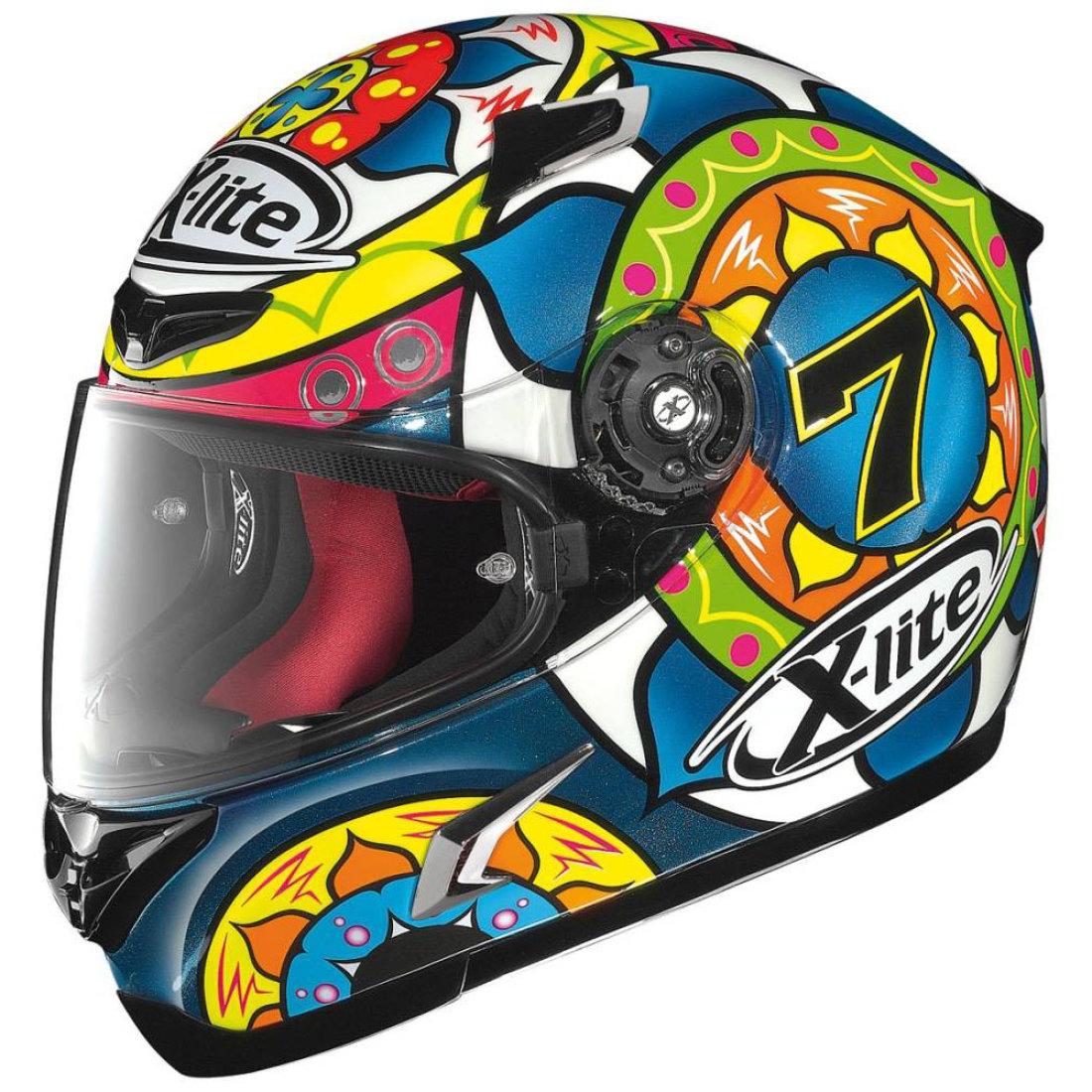 x lite x 802r chaz davies sepang helmet motocard