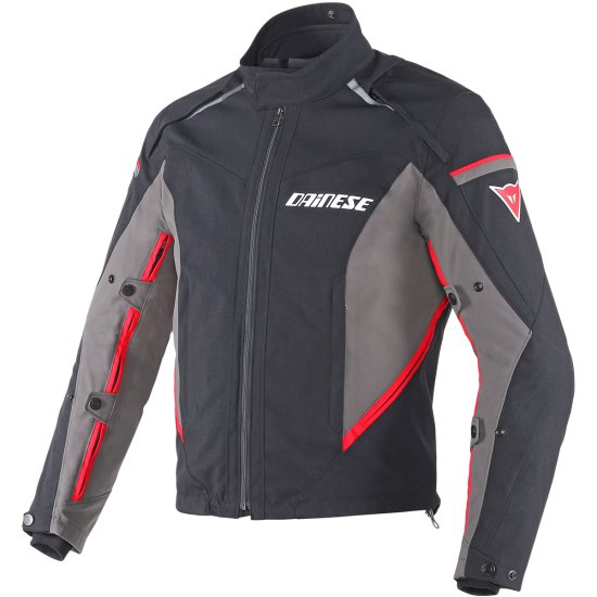 Chaqueta DAINESE Rainsun D-Dry Black / Grey / Red