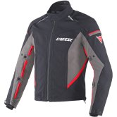 DAINESE Rainsun D-Dry Black / Grey / Red