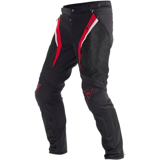 DAINESE Drake Super Air Tex Black / Red / White Pant