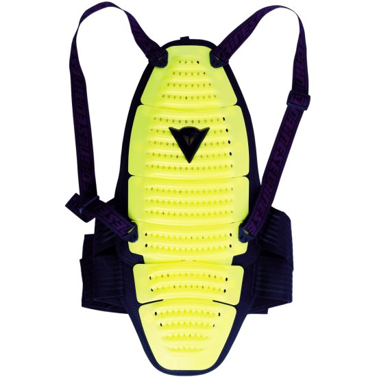 Proteccion DAINESE Spine 1 Yellow Fluo / Black