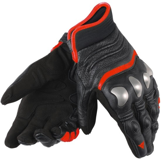 Guantes DAINESE X-Strike Black / Fluo-Red