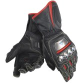 DAINESE Full Metal D1 Black / Red-Fluo