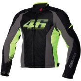 DAINESE VR46 Air Tex Black / Grey / Fluo