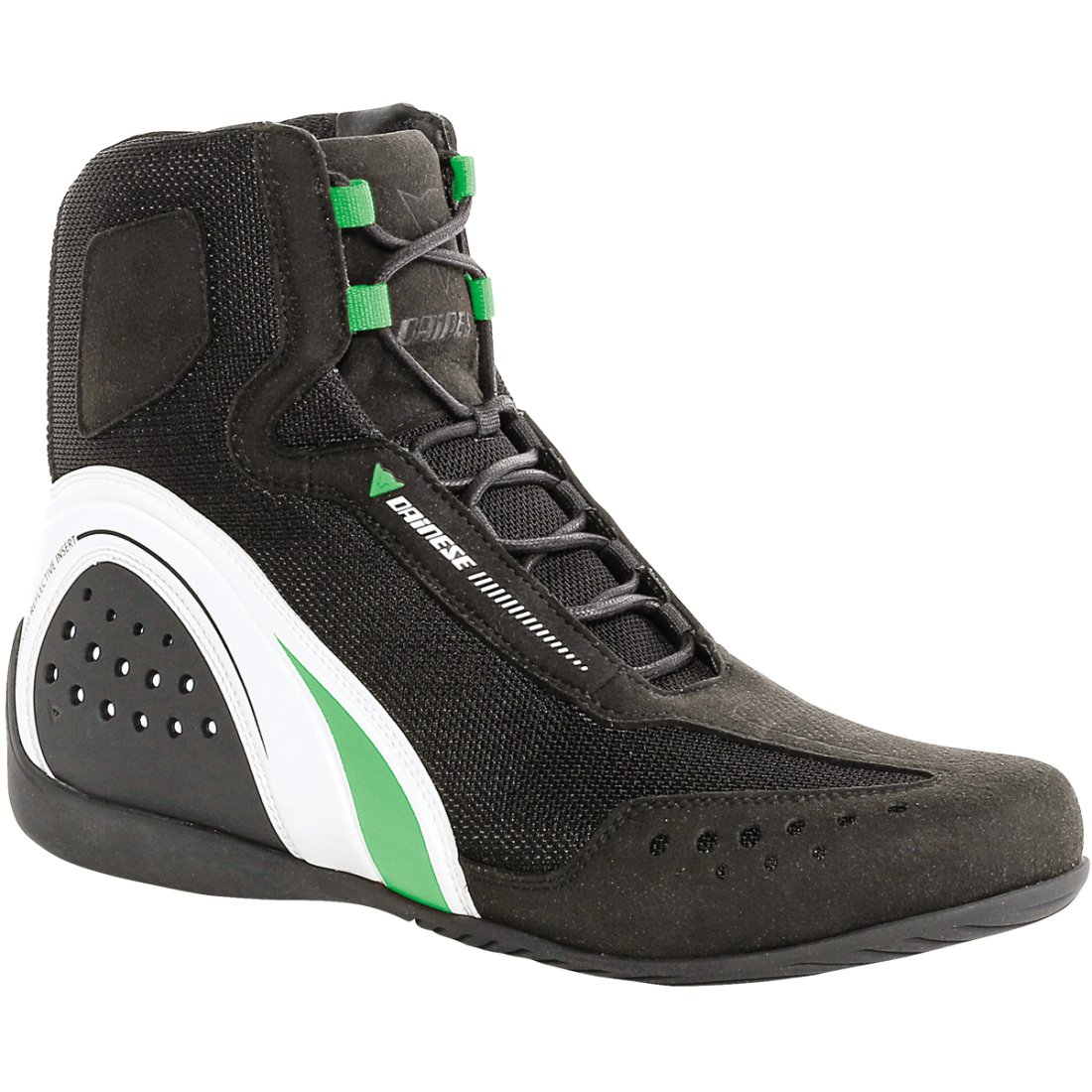 DAINESE Motorshoe Air Black White Green Fluo Boots