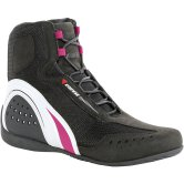 DAINESE Motorshoe Air Lady Black / White / Fuxia