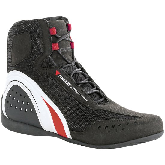 Botas DAINESE Motorshoe Air Lady Black / White / Red