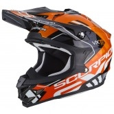 SCORPION VX-15 Evo Air Argo Black / Orange