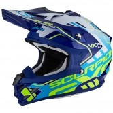 SCORPION VX-15 Evo Air Argo Blue / White